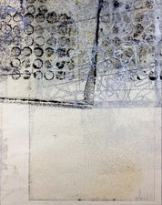 Wendy Akin | 'Confusion', encaustic monoprint