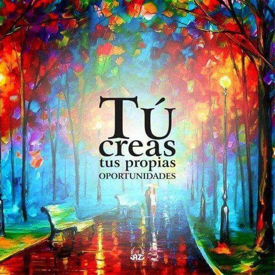 ❝ #FelizDomingo - Tú creas tus propias... ❞ ↪ Puedes verlo en: www.proZesa.com
