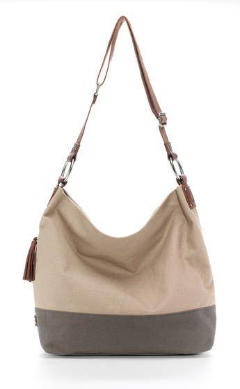 Ellington Handbags | Sadie Canvas: Khaki and Olive