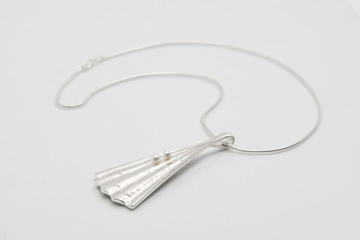 Handmade Irish Silver Pendant - Shore Collection