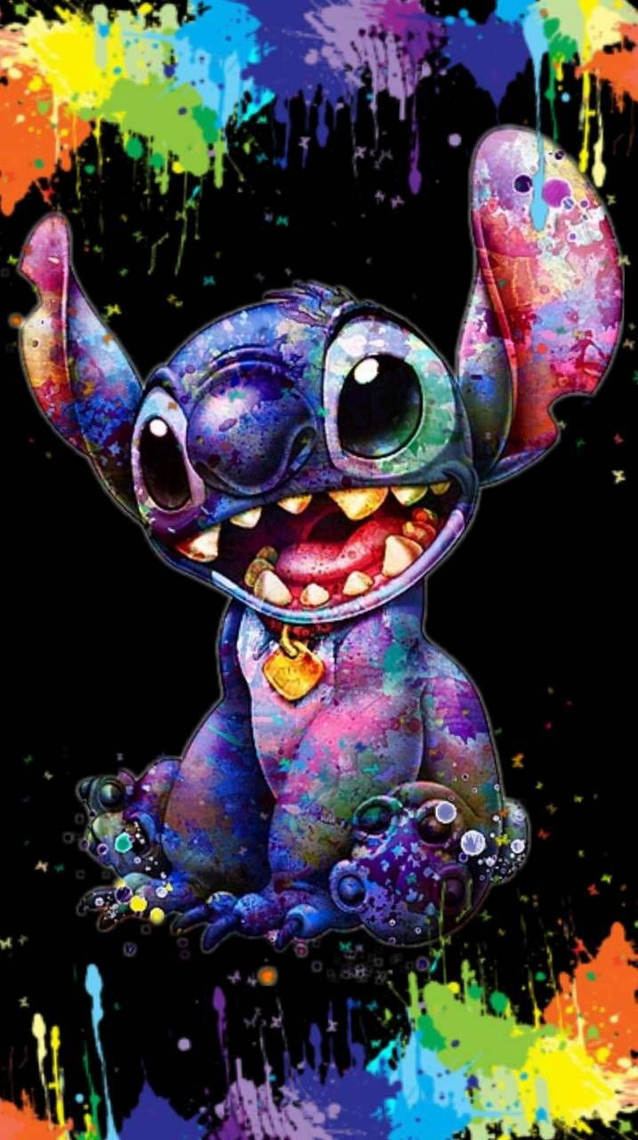 Download Stitch Color Splash Wallpaper By Glendalizz69 1c Free On Zedge Now Browse Millions Cute Disney Wallpaper Disney Drawings Disney Phone Wallpaper