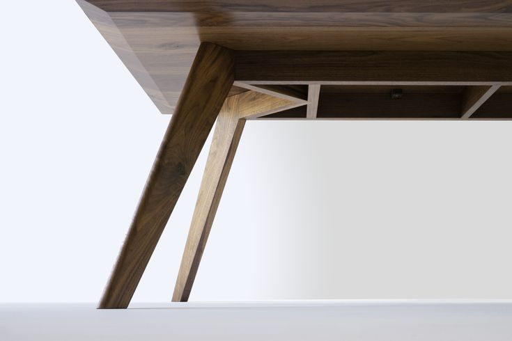 Vista St Dining Table in American Walnut (2014) Nathan Day Design
