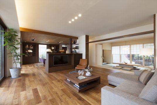 リビング|吉島シャーウッド展示場|広島県|住宅展示場案内(モデルハウス)|積水ハウス