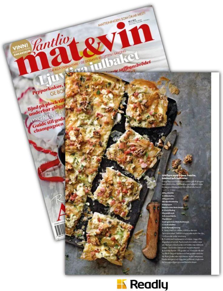 Tips om Lantliv Mat & Vin 2 november 2015 sidan 52