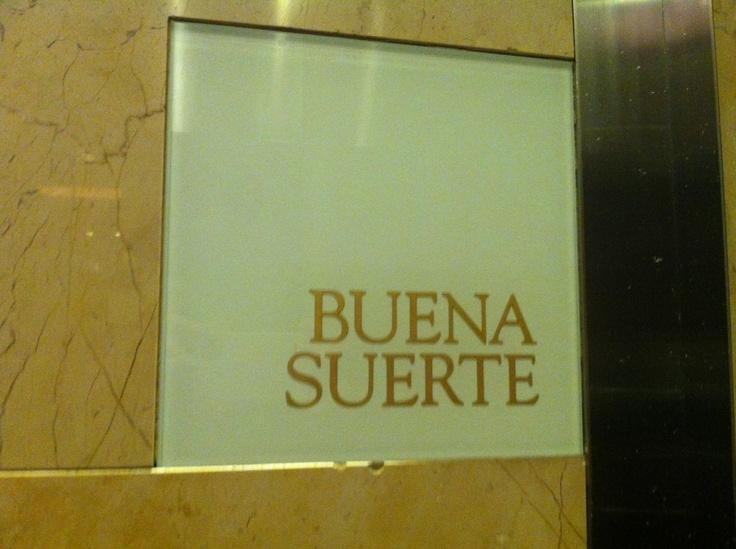 Buena Suerte- Borgata Hotel AC, NJ