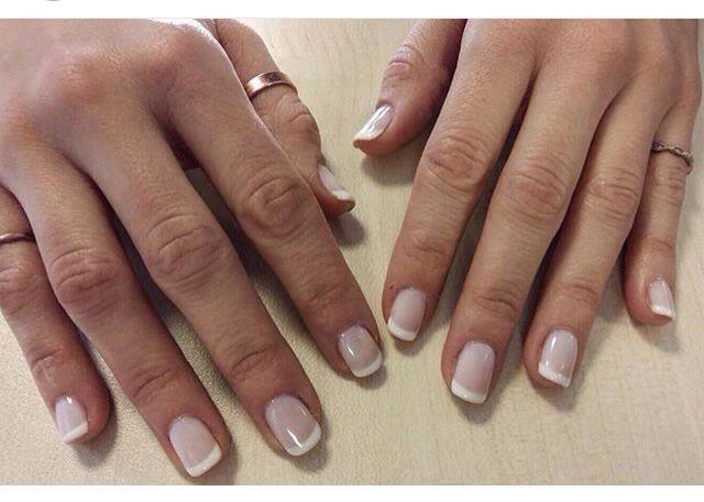 Love this French manicurenobbynails