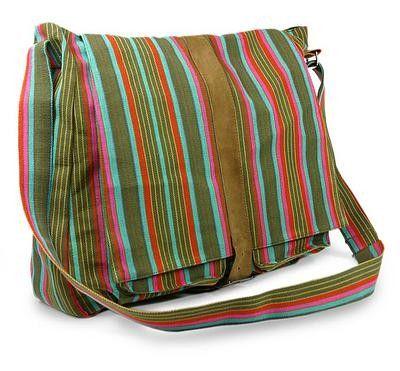 Maya Rainbow  Messenger Bag | Eksklusive Klær, Smykker, Vesker og Interiør Design