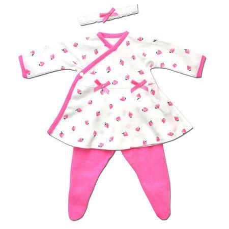 Strawberry Swing Side Snap Dress