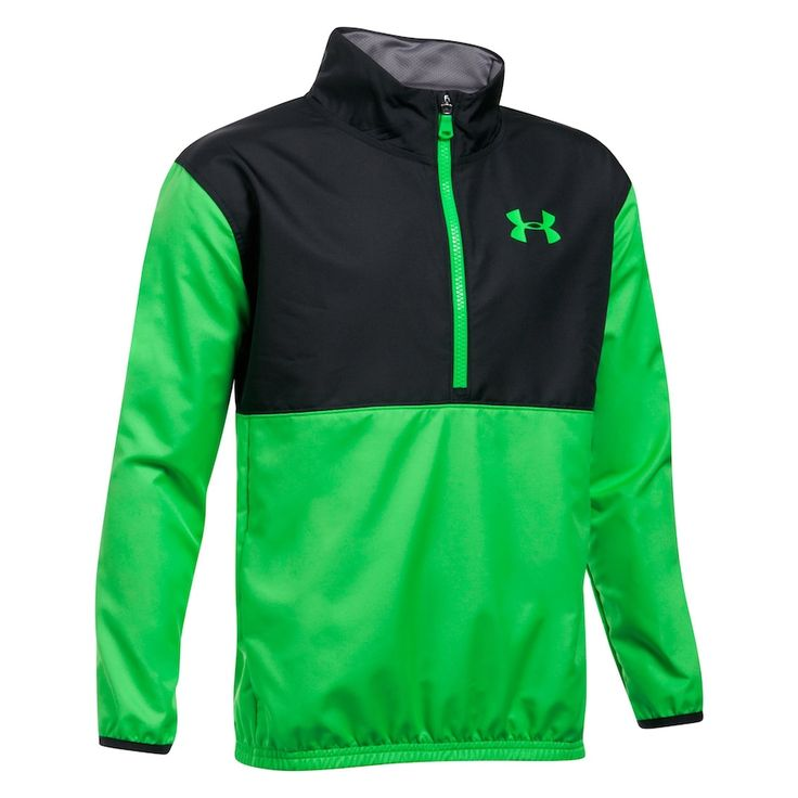 Boys 8-20 Under Armour Train To Game Jacket, Size: Medium, Lime Twist