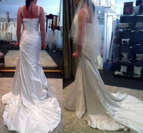 """Pronovias Wedding Dress """"Alice"""" - Ivory Size 10 - $300.00 : Marry Me Charlie, Your Online Wedding House 