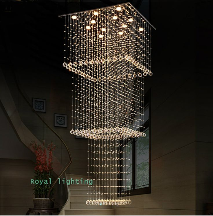 The 13 best staircase light ideas images on pinterest chandeliers image result for staircase chandeliers mozeypictures Gallery
