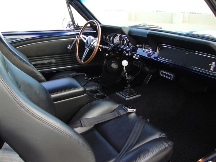 The 1966 Mustang Interior Cup Holders Mustang Musings