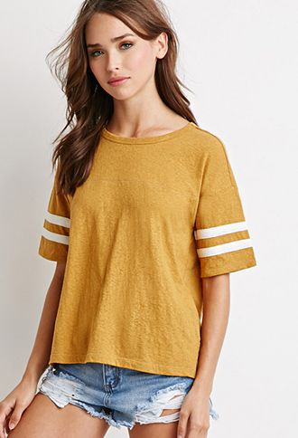 Varsity-Striped Top | Forever 21 | #thelatest