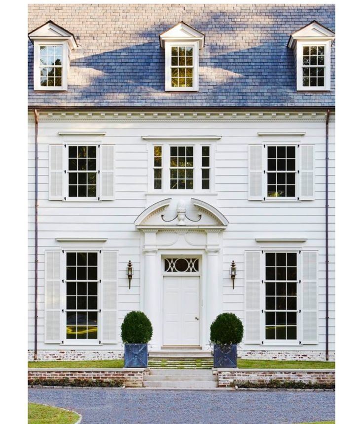 409 Best Images About Homes Georgian Colonial Etc On