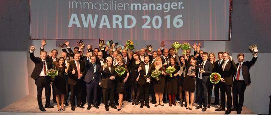 immobilienmanager Award 2016 Preisträger im DOCK.ONE