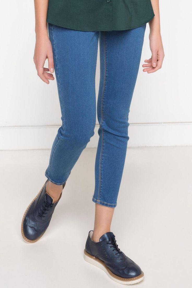 DeFacto Marka Skinny Denim Pantolon || Skinny dar paçası ile size fit bir görünüm kazandıracak, şık ve rahat DeFacto bayan pantolon                        http://www.1001stil.com/urun/3120478/skinny-denim-pantolon.html?utm_campaign=DeFacto&utm_source=pinterest