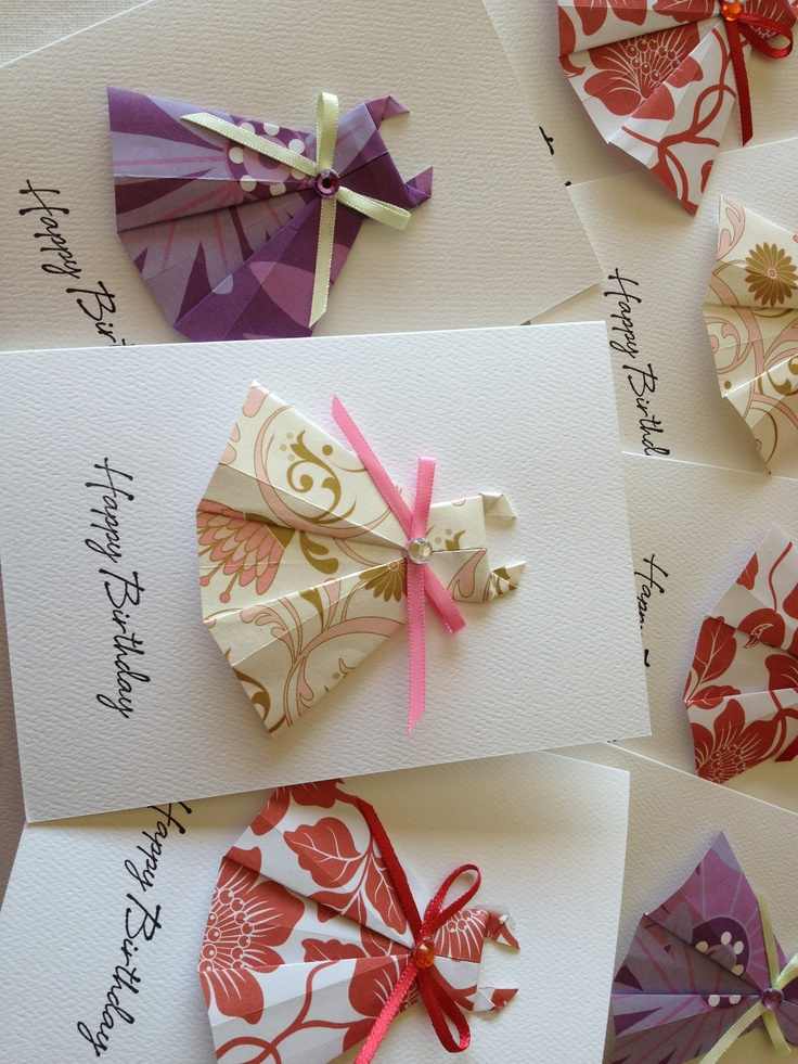 29 Best Origami Cards Images On Pinterest Origami Cards Diy Cards