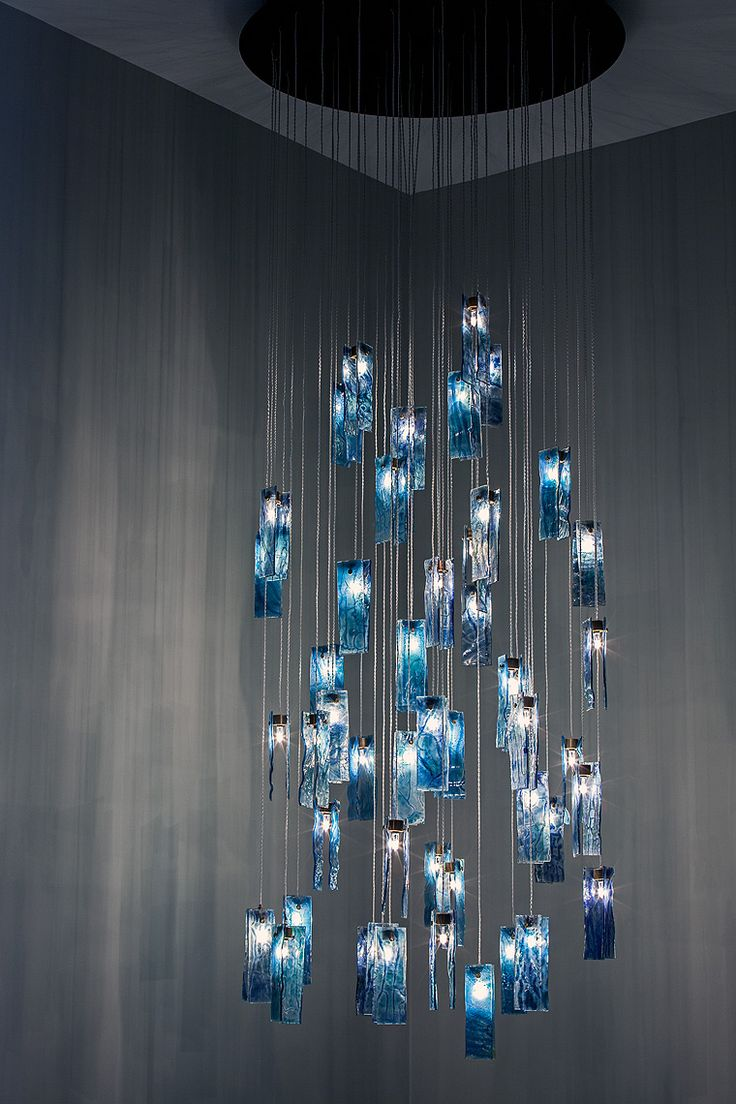 15 best glass art chandeliers images on pinterest glass art ocean breeze drops this customizable chandelier is made to order from our canadian designer using the aloadofball Images