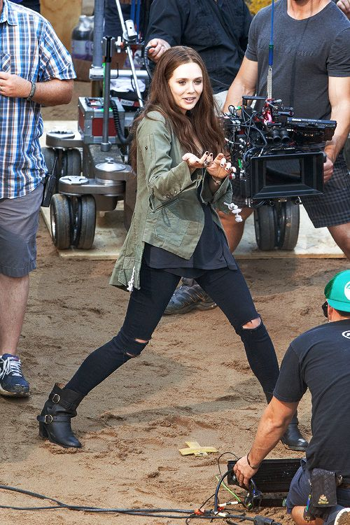 Fight Scenes Are Like Learning A Dance You Learn It Move: (Spoilers) Elizabeth Olsen, Behind The Scenes Of Civil War