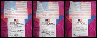 United States Flag and The Pledge of Allegiance Activity for President's Day