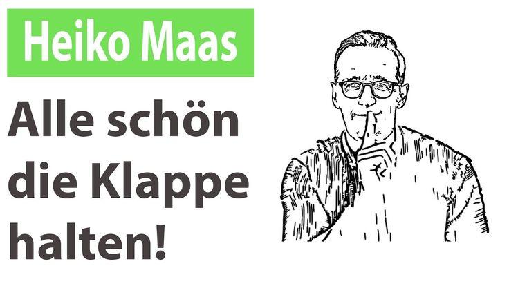 Heiko Maas - Wie ab 2018 die Zensur legal wird