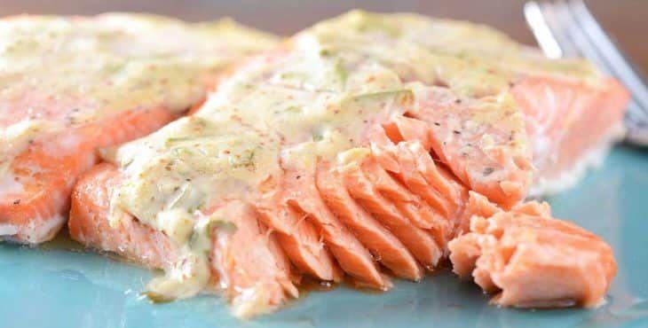 salsa para salmon
