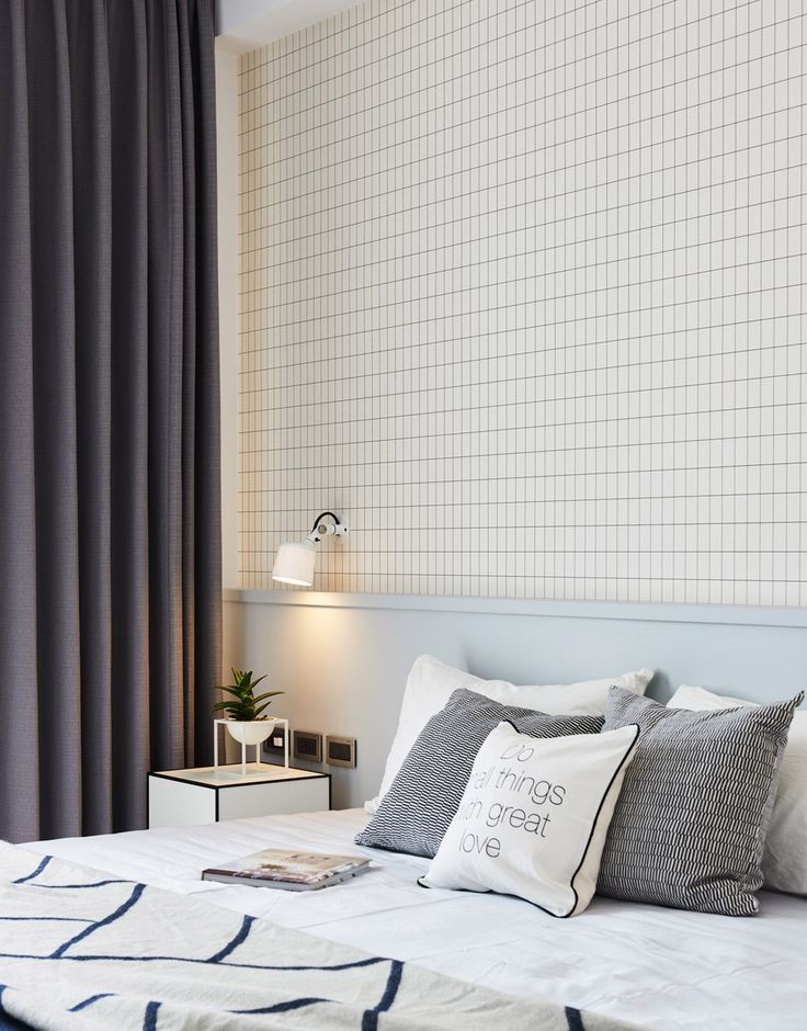 Black, White and Patterns Steal the Show In This Scandinavian-Style Apartment