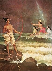 Lord Varuna - God of the celestial ocean, ruler of the underworld. Inspiration for my villain in the Seven Islands?