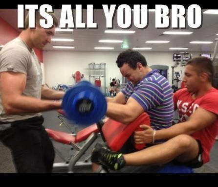 gym fail - you're doing it wrong