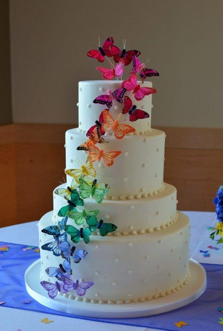 Simple Wedding Cakes with Beautiful Details - Cake: Honey Crumb Cake Studio