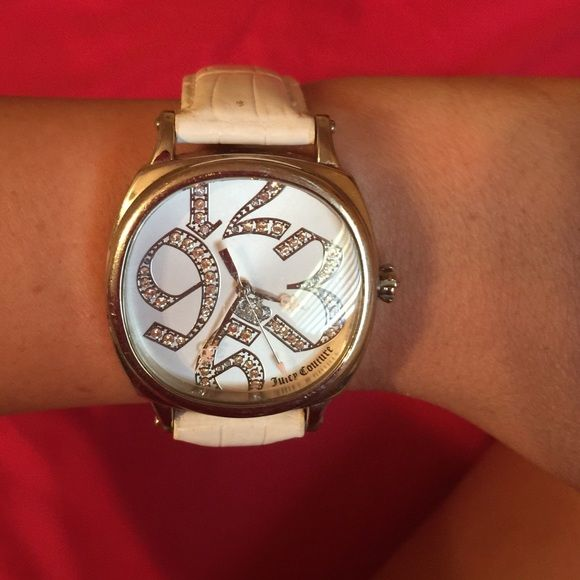Juicy couture watch White juicy couture watch Juicy Couture Jewelry
