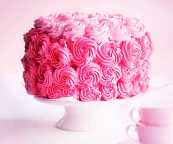 Ruusukakku / Rose cake / Kotiliesi.fi / Kuva/Photo: Sampo Korhonen/Otavamedia