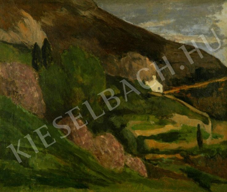 Landscape at Nagybánya - Margit Pogány