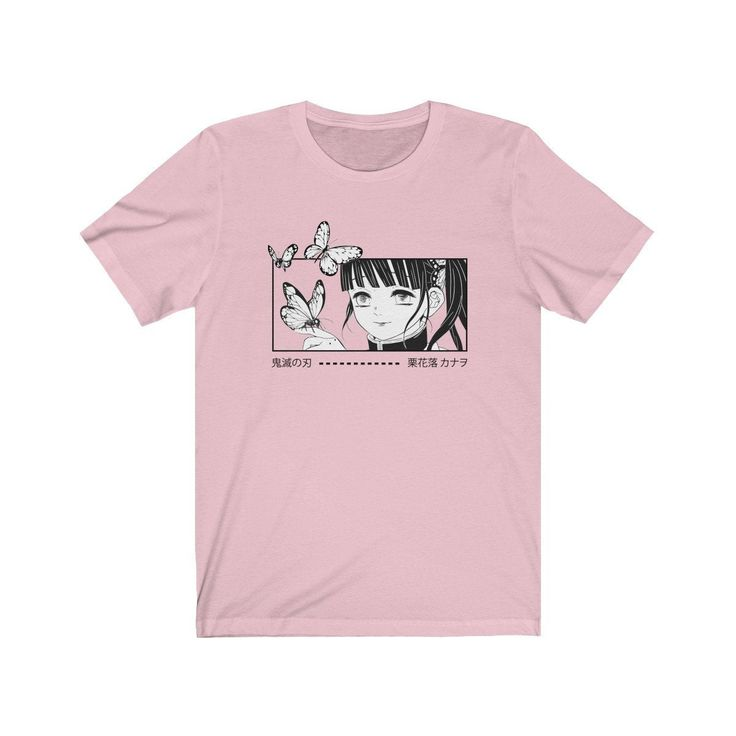 Demon Slayer Kimetsu no Yaiba Kanao Tsuyuri Anime Shirt Manga Shirt Japanese T Shirt Aesthetic Clothing Aesthetic T-Shirt