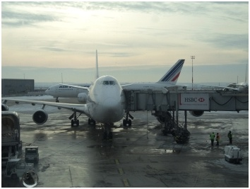 CDG Airport in Paris