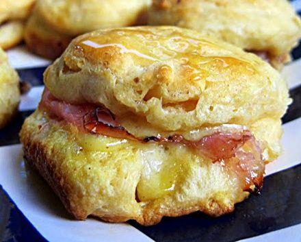 Honey Ham Biscuit Sliders... Happy Hour Appetizers 19 | Hampton Roads Happy Hour
