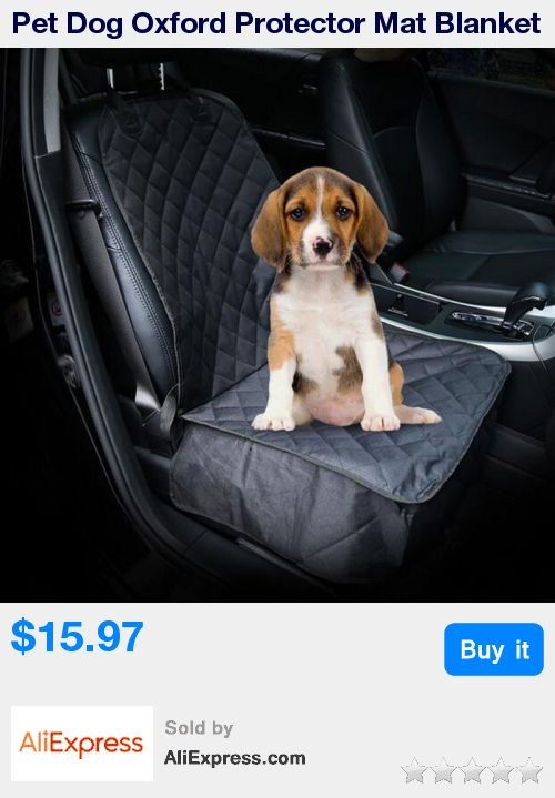 Pet Dog Oxford Protector Mat Blanket Travel Waterproof Cat Car Front Seat Cover Dog Puppy Car Accessories Pet Car Seat Mat * Pub Date: 13:13 Oct 14 2017