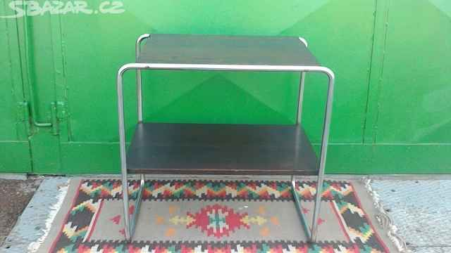 Chromovaný stolek, - obrázek číslo 1