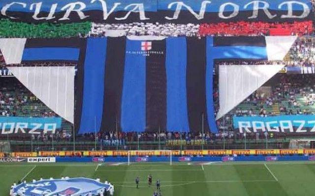 Curva Nord Inter chiusa per un turno per cori razzisti #inter #seriea #seriea