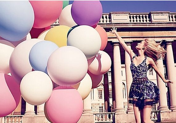Balloons   HUGE 36 inch Balloon Round Latex Balloons by Drawcord18