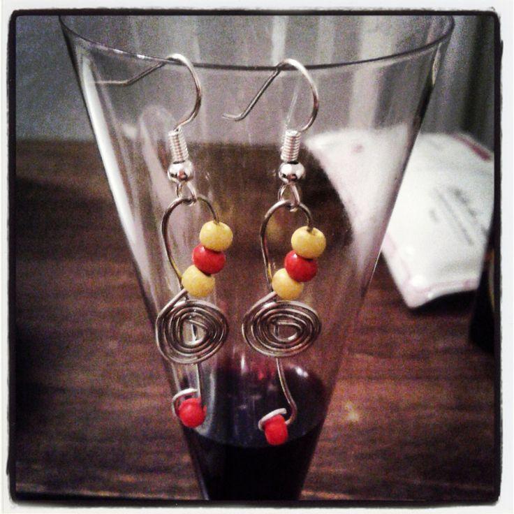 Music Earrings by Paola