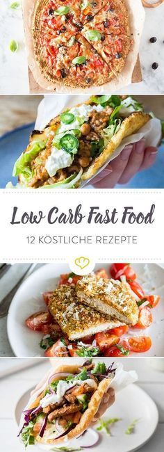 Bye, bye Kohlenhydrate! 12 Ideen für Low Carb Fast Food