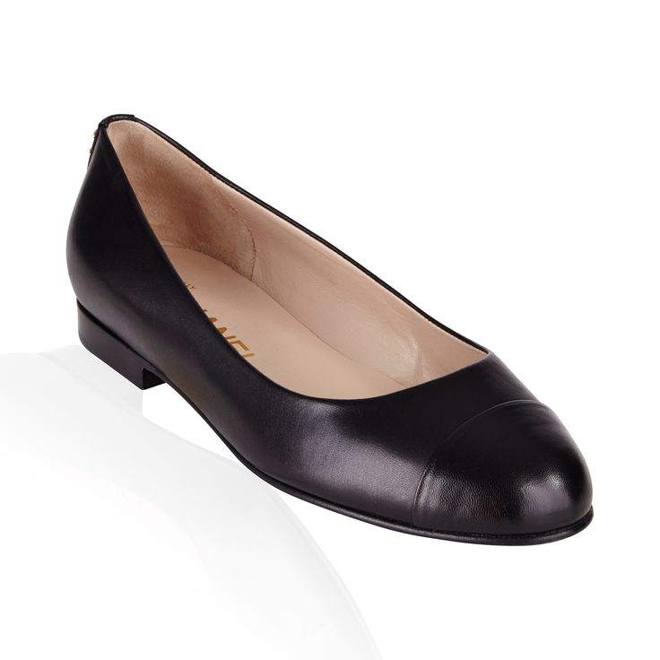 Black Leather Flat - Chic  fun Chanel Elastic Ballet Flats are a stylish addition for every wardrobe. This is a timeless style that any fashionista would not want to miss!