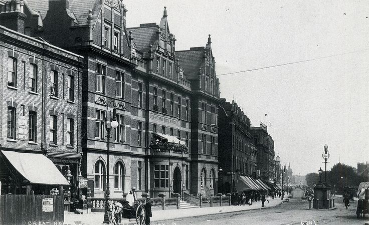 Royal Northern Hospital, Holloway Road c 1890