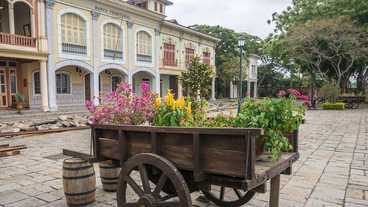 El pasado de Guayaquil en el Parque Histórico