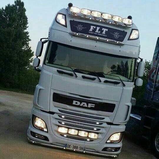 Daf xf 105 super space cab