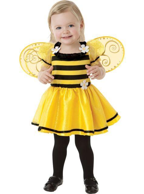 Baby Daisy Buzzy Bee Costume - Party City 12/24 mo.