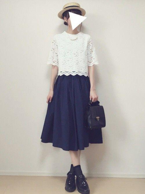 MAYUKO Perle Pecheのシャツ/ブラウスを使ったコーディネート - WEAR