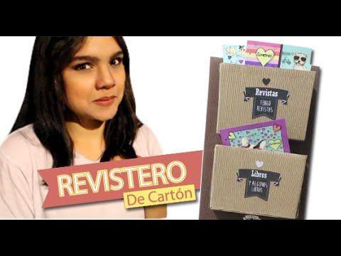 Hagamos El Revistero Más Hermoso del Mundo!! | TENDÓN CREATIVO - YouTube