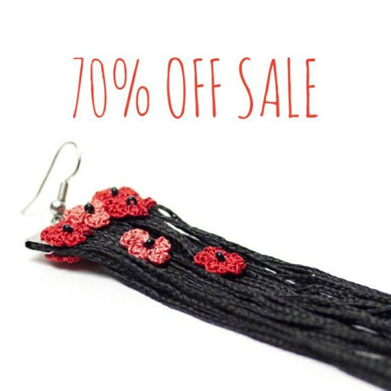 70% OFF Earrings-Bohemian Tassel Earrings with by PinaraDesign